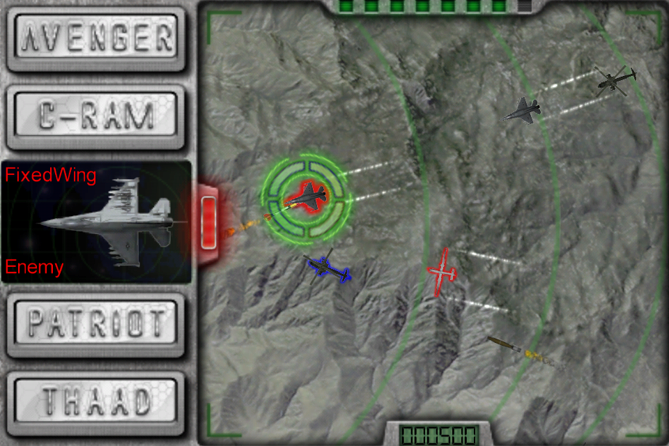 Screenshot US Army Air Defender